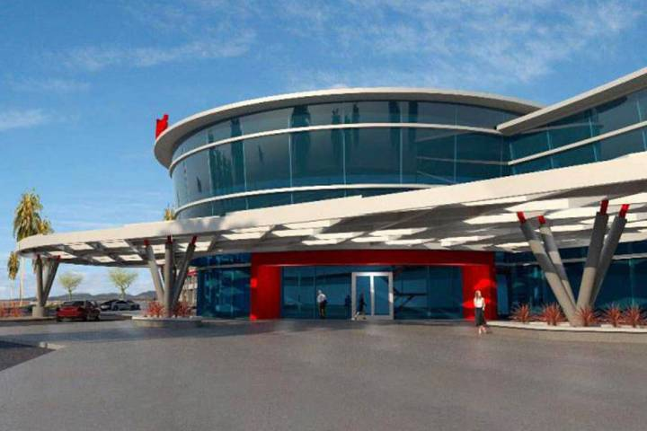 Haas Automation plans to build a manufacturing facility in Henderson, a rendering of which is s ...