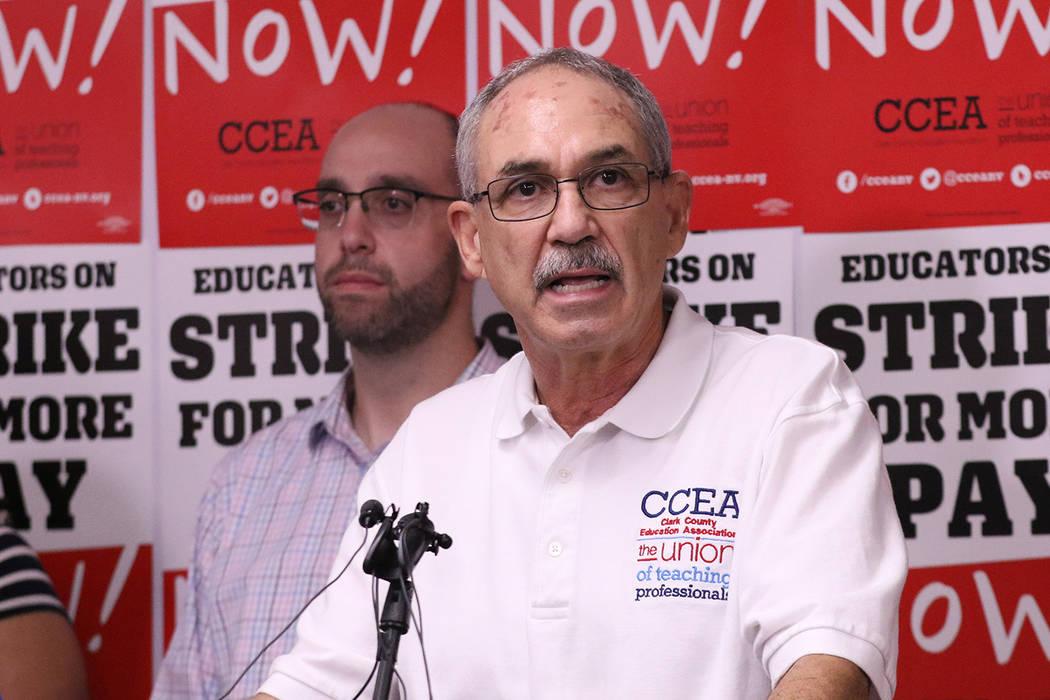 Clark County teachers union to push tax increase ballot initiatives