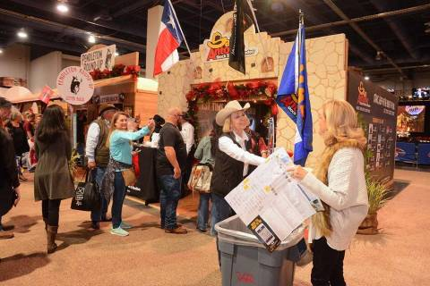 Rodeo Way will be one floor above Cowboy Christmas in the South Halls of the Las Vegas Conventi ...