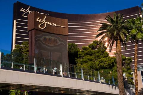 Wynn Las Vegas on the Las Vegas Strip. (Chase Stevens/Las Vegas Review-Journal) @csstevensphoto