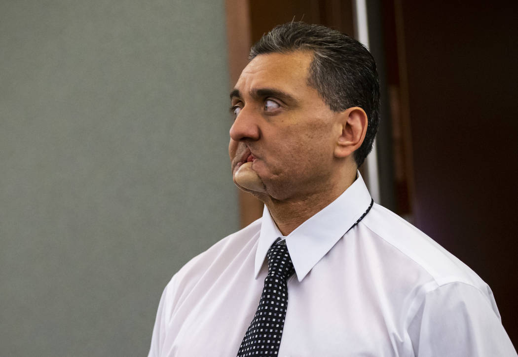 Manuel Mata III enters the courtroom for the penalty phase of his trial at Regional Justice Cen ...