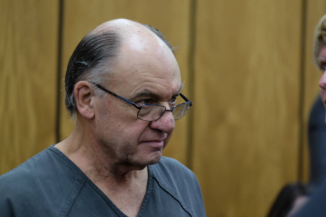 Accused killer Charles Gary Sullivan made his initial appearance in Reno District Court on Tues ...