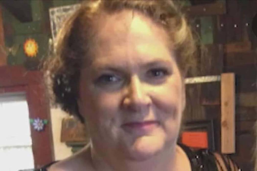 Kimberly Gervais of California, who was wounded in the 2017 mass shooting on the Las Vegas Stri ...