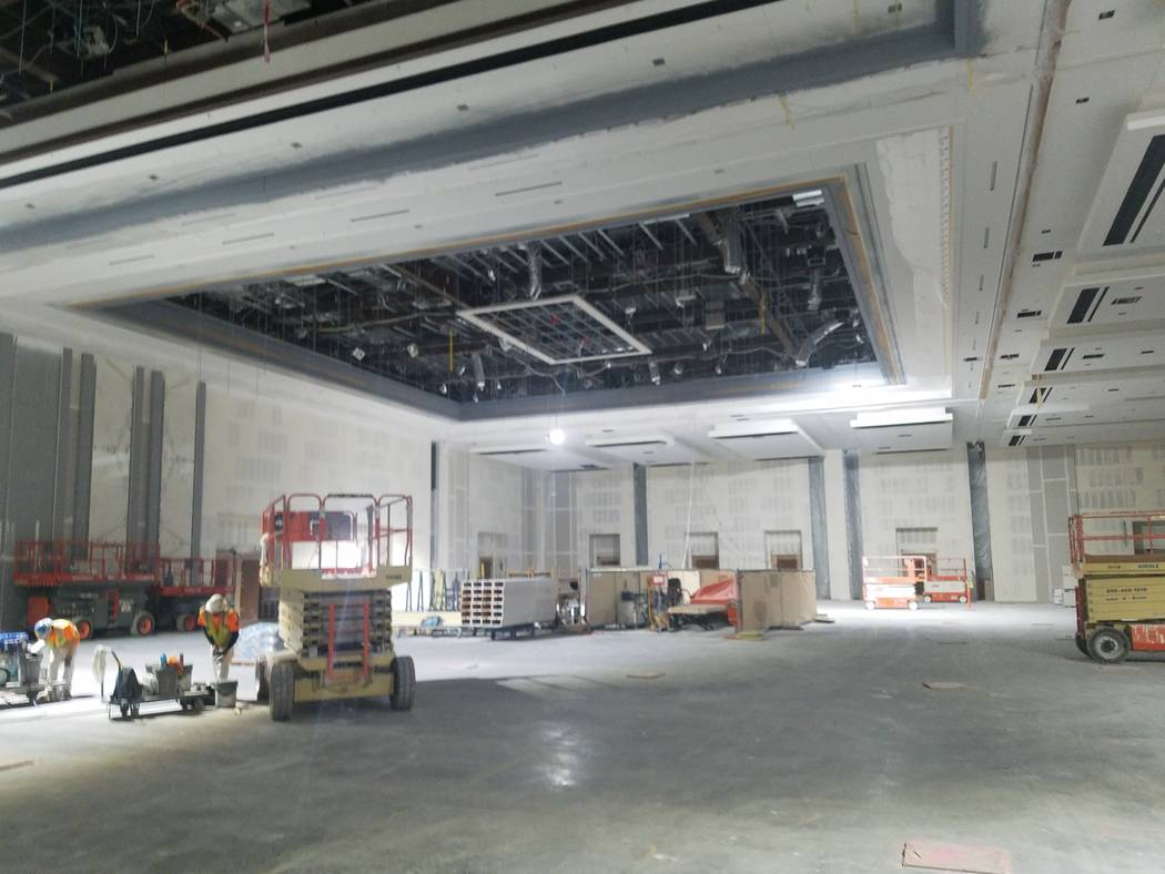 One of the junior ballrooms at Caesars Forum, Monday, Nov. 18, 2019. (Richard N. Velotta/Las Ve ...