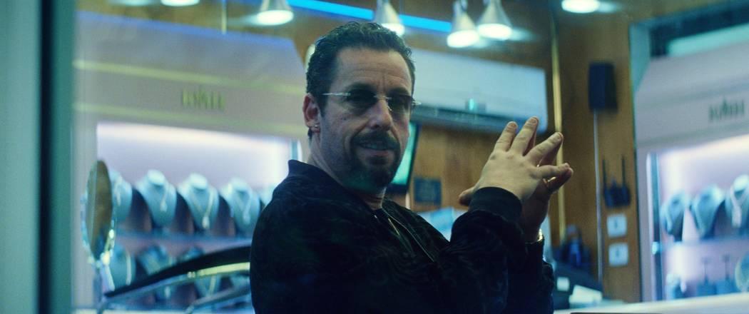 """Adam Sandler stars in """"Uncut Gems."""" (A24)"""