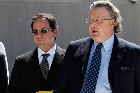 Attorneys Richard Schonfeld, left, and David Chesnoff on Tuesday, Aug. 5, 2014. (Erik Verduzco/ ...