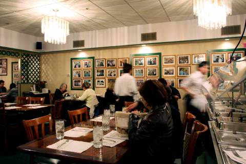 The Lotus of Siam restaurant before a 2017 roof collapse forced the closure of its original loc ...