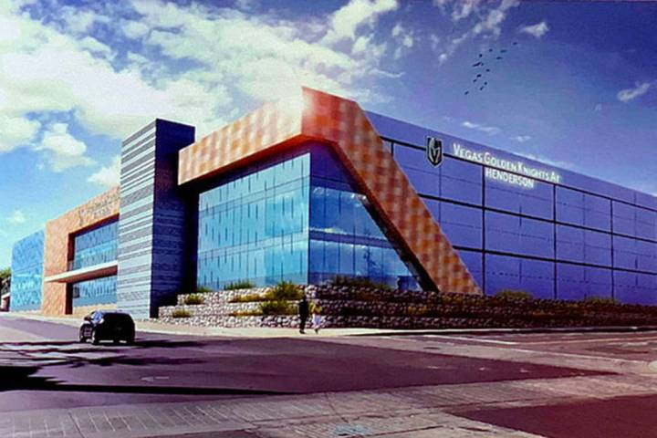 A rendering of Henderson sports and convention complex.(City of Henderson)