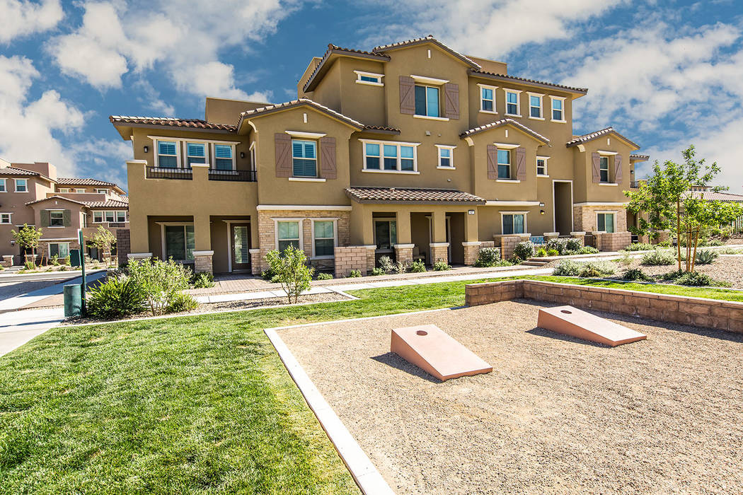 Santa Rosa town homes by Lennar is the last neighborhood in the Paseos village with new homes f ...