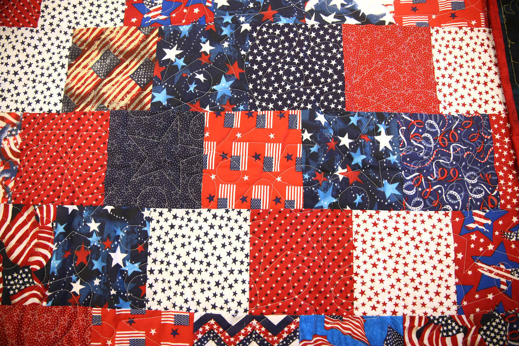 Sun City Anthem Veterans Receive Donated Quilts Of Valor Las
