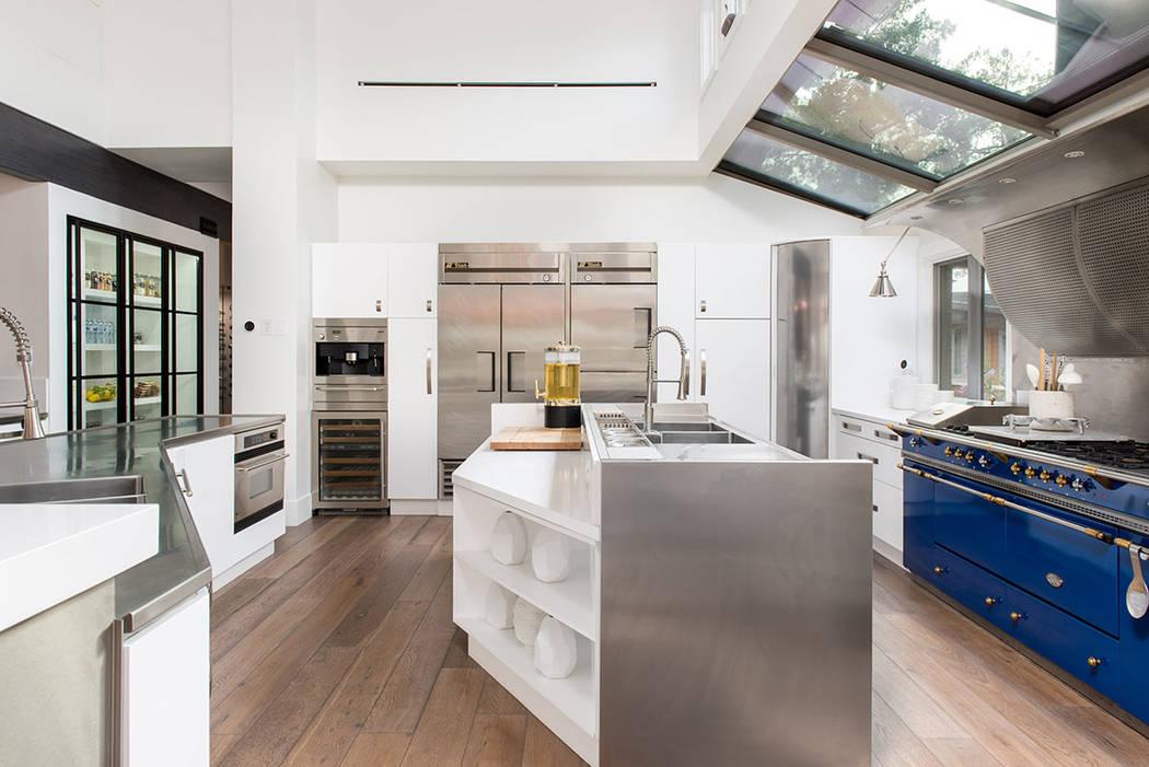 The kitchen has a modern design. (Simply Vegas)