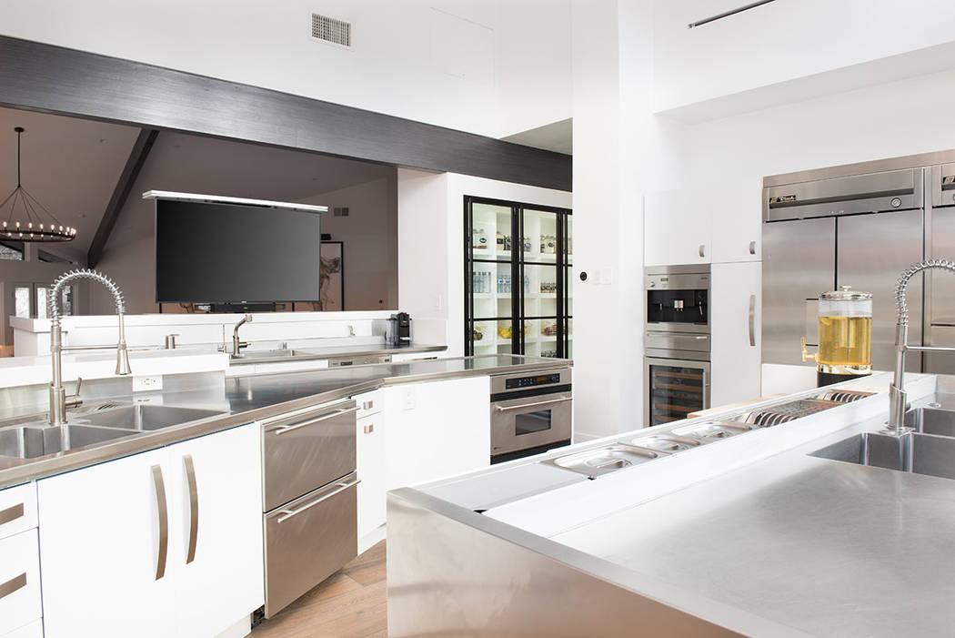 The kitchen. (Simply Vegas)