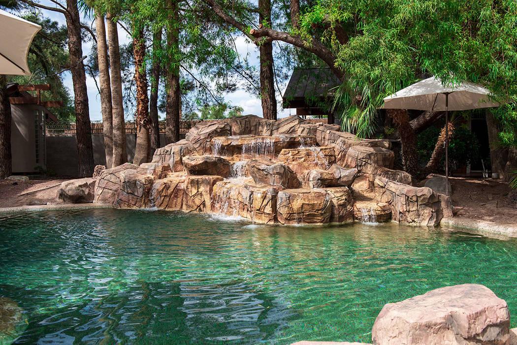 The main house has a pool. (Simply Vegas)