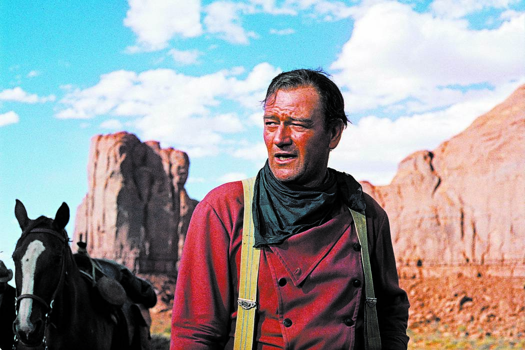 FILE*** In this photo released by Warner Bros., actor John Wayne plays Ethan Edwards in the new ...