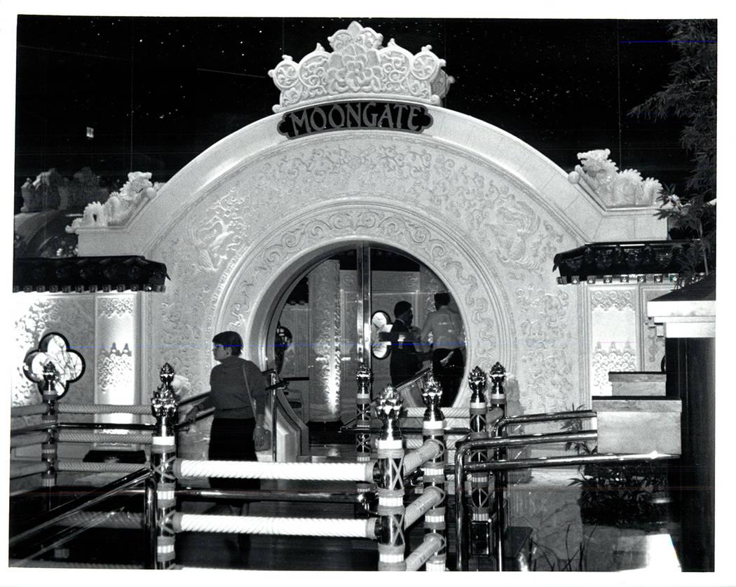 Gourmet restaurant at The Mirage. (Wayne Kodey / Las Vegas Review-Journal)
