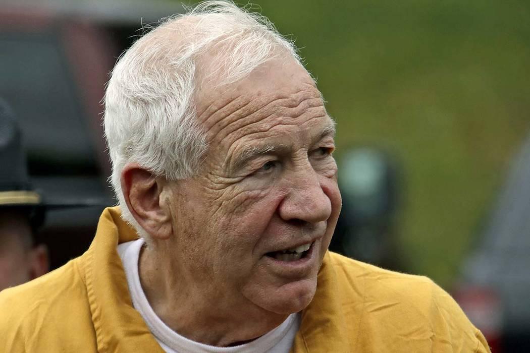 Former Penn State University assistant football coach Jerry Sandusky arrives at the Centre Coun ...