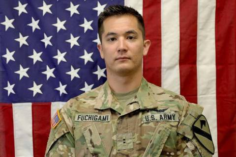 Kirk Fuchigami, 25, was killed in action Wednesday in a helicopter crash in the Logar Province ...
