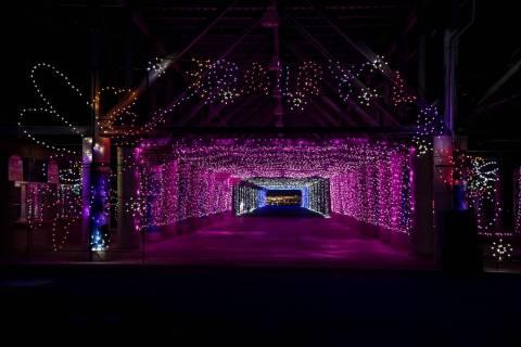 Glittering Lights at Las Vegas Motor Speedway (Gabe Ginsberg)
