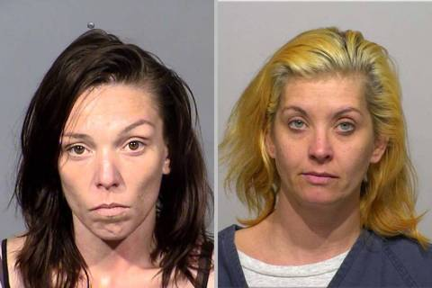 Lisa Mort, left, and Casandra Garrett have been indicted in the disappearance and death of Esme ...