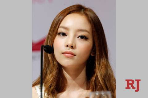 FILE - In this Tuesday, July 10, 2012 file photo, South Korea's pop girl group KARA's Goo Hara ...