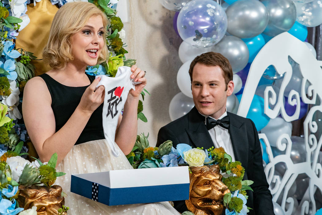 """Rose McIver and Ben Lamb in """"A Christmas Prince: The Royal Baby"""" (Netflix)"""