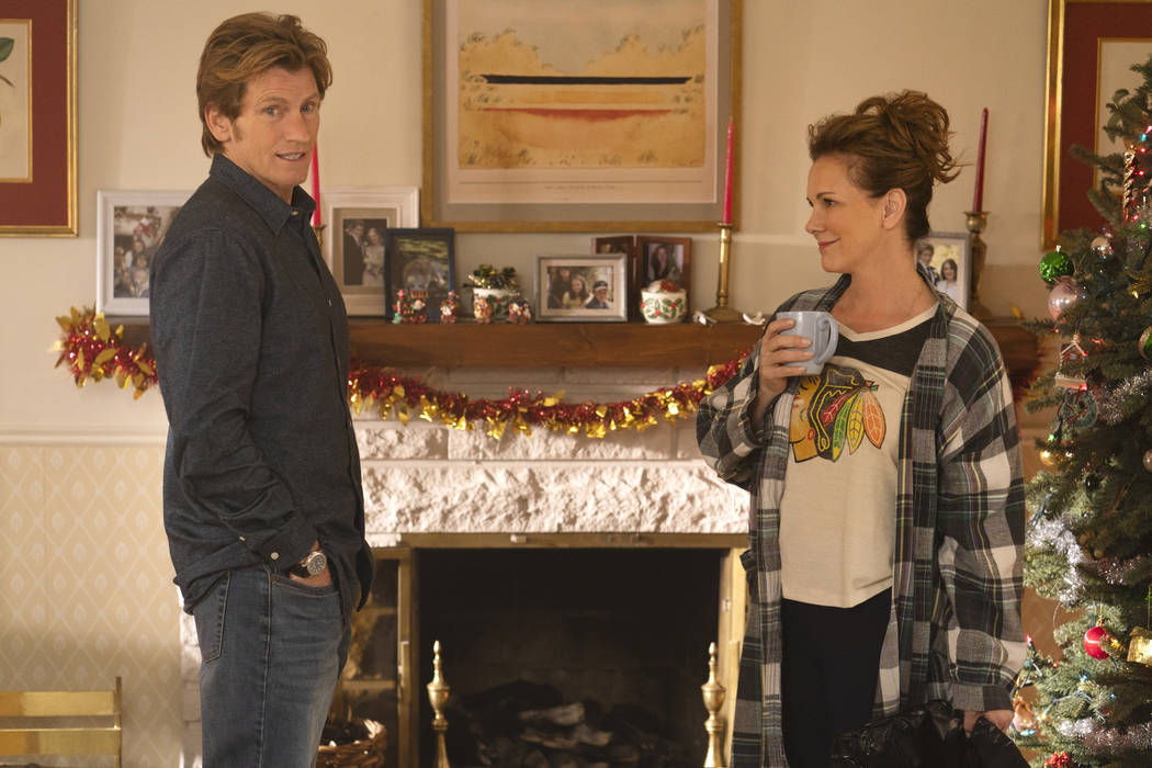 Denis Leary, left, and Elizabeth Perkins in the all-new holiday-themed comedy The Moodys, airin ...