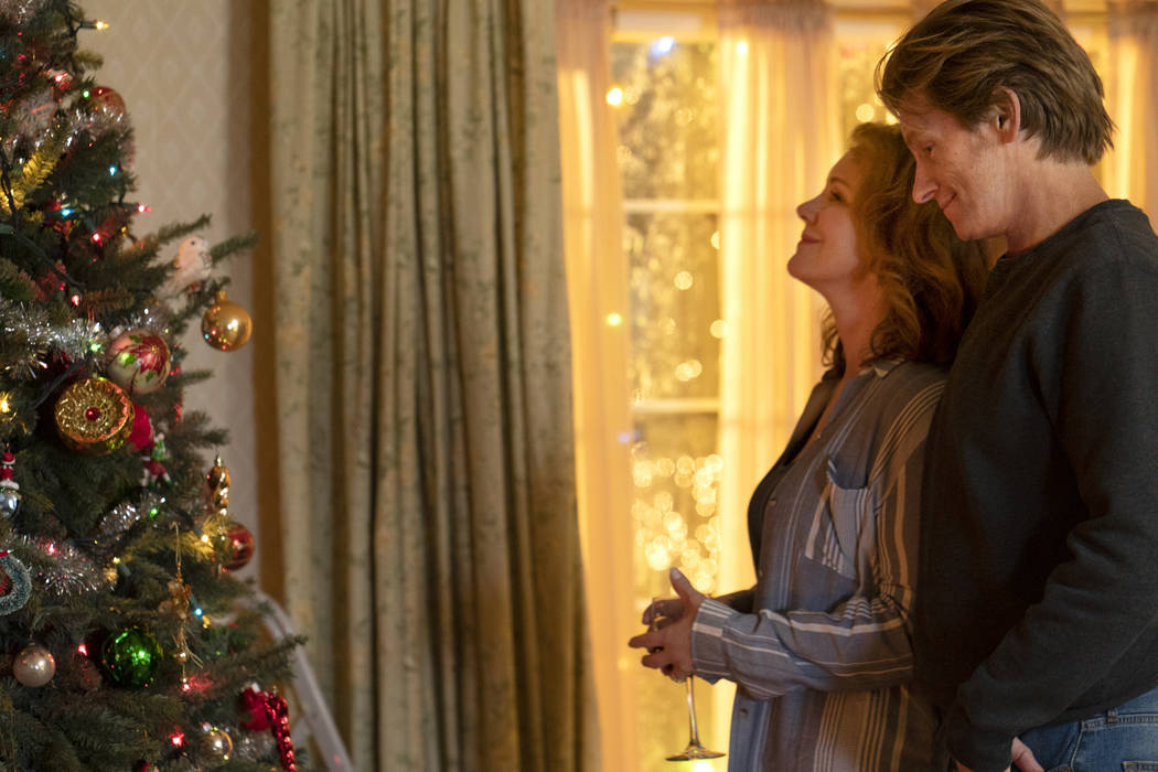 Elizabeth Perkins, left, and Denis Leary in the all-new holiday-themed comedy The Moodys, airin ...