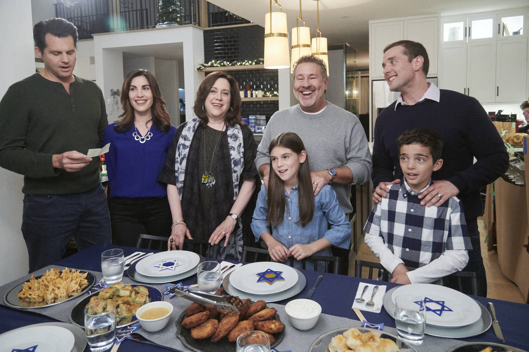 Career-minded Rebecca's plans for Hanukkah go askew when a promotion opportunity comes up at ...