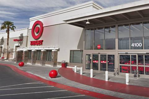 Target store on Blue Diamond Road in Las Vegas (Google)