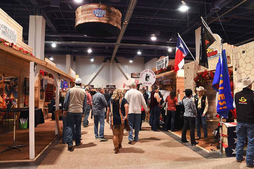 Cowboy Christmas attracted 232,595 visitors during its 2019 run. Rodeo Way will be one floor ab ...