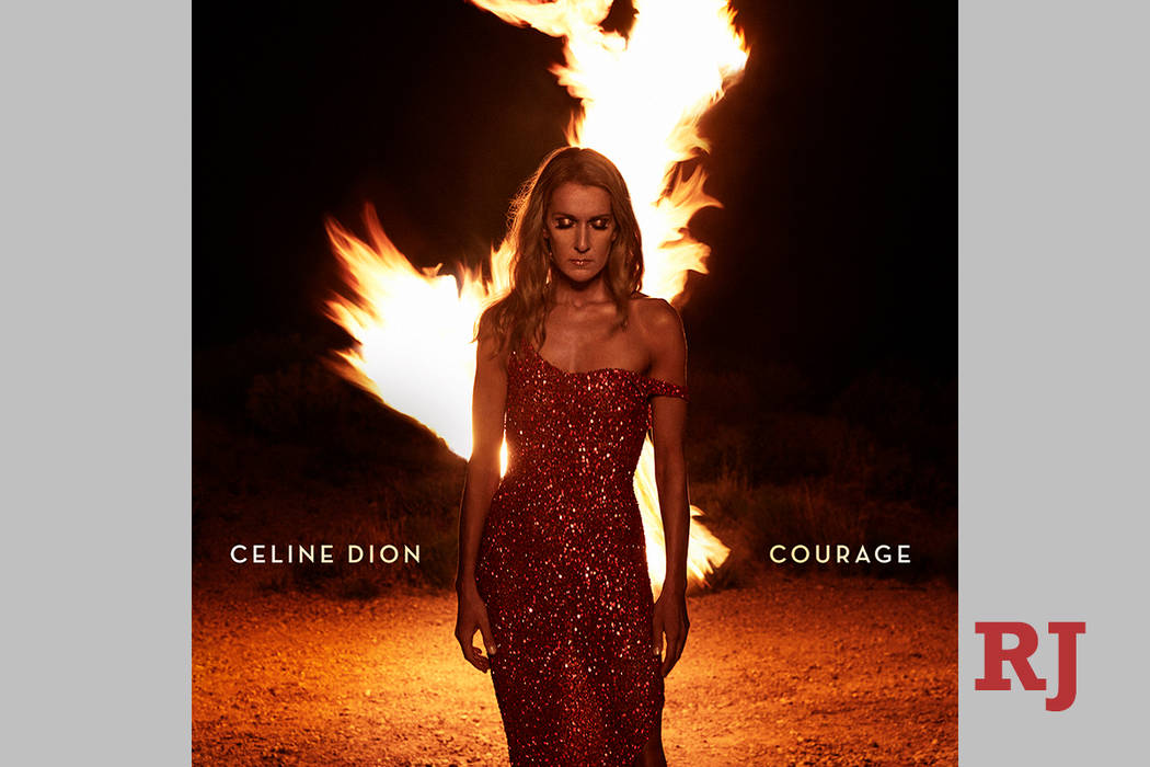 "This cover image released by Sony Music Entertainment Canada/Columbia Records shows ""Courage,"" ..."