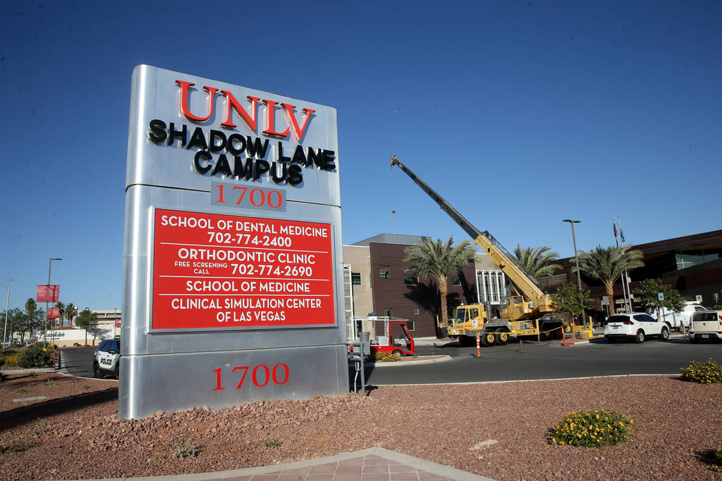 Gov. Steve Sisolak has announced a new plan for a permanent home for the UNLV School of Medicin ...