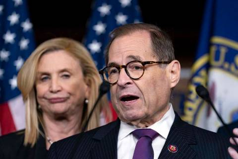 Rep. Jerry Nadler, D-N.Y., chairman of the House Judiciary Committee, announced Tuesday a publi ...