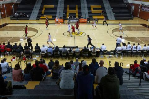 The college basketball game between UC-Irvine and Louisiana takes place in the Clark High Schoo ...