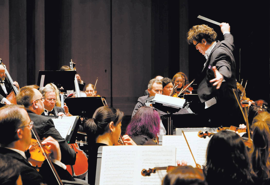 "The Las Vegas Philharmonic will perform at their concert, ""A Baroque Holiday — Handel's Mes ..."