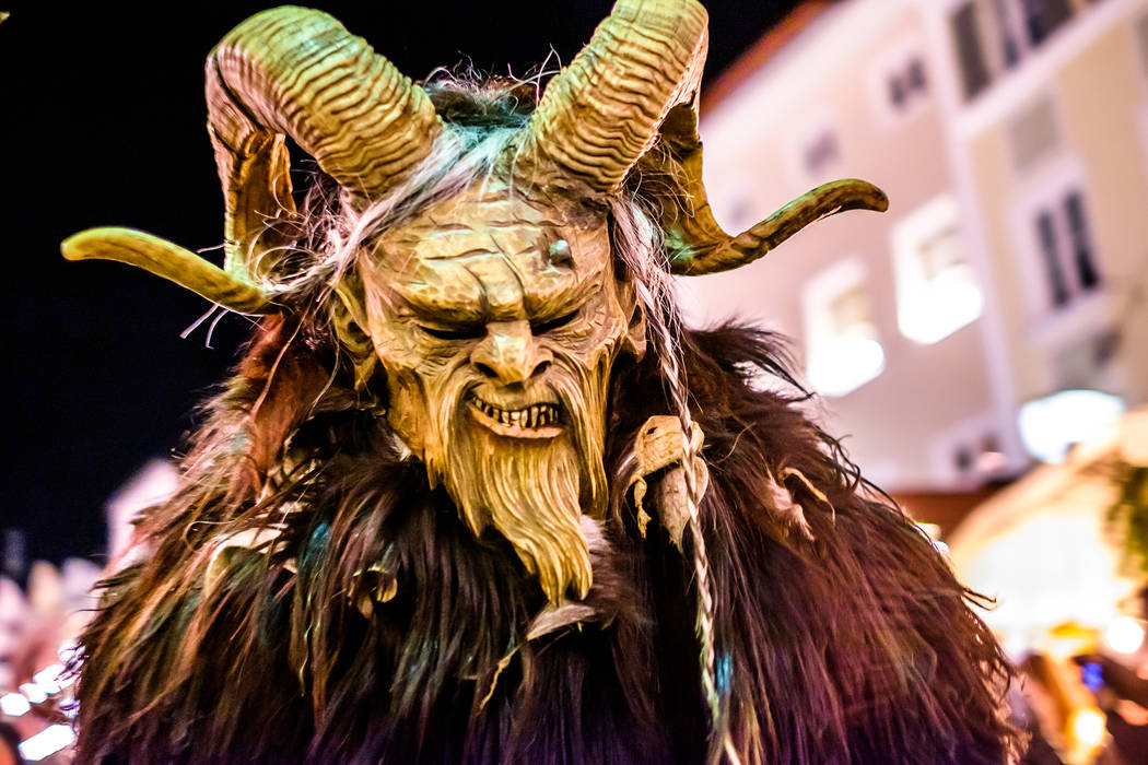"Majestic Repertory Theatre's ""Krampus"" invites audience members to a family party gone terr ..."