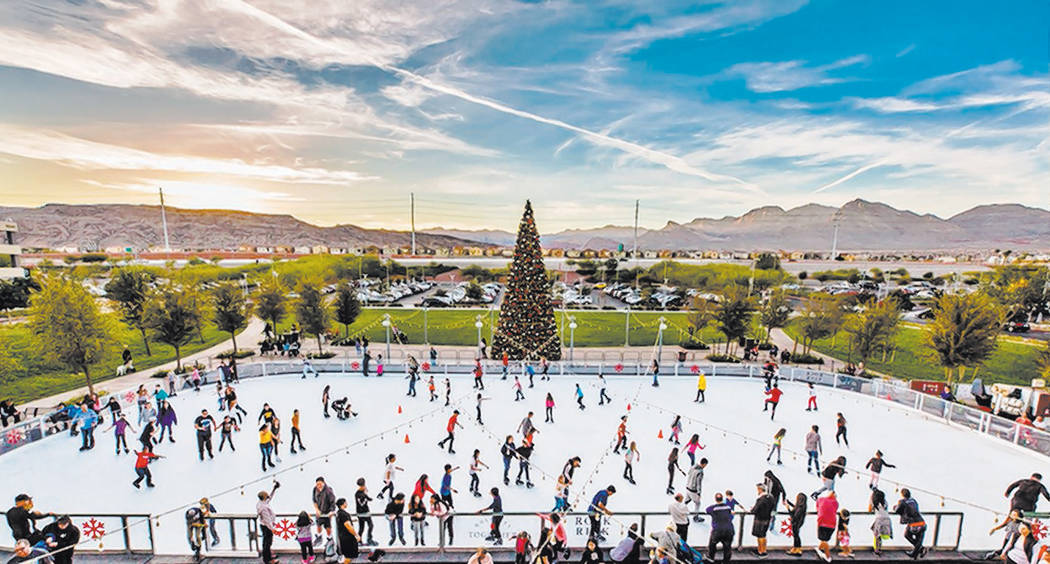 Skate to your heart's content at the Rock Rink in Downtown Summerlin. No credit