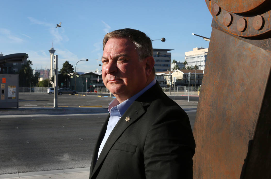 Randy Sutton, a retired Las Vegas police lieutenant, is the founder and CEO of The Wounded Blue ...