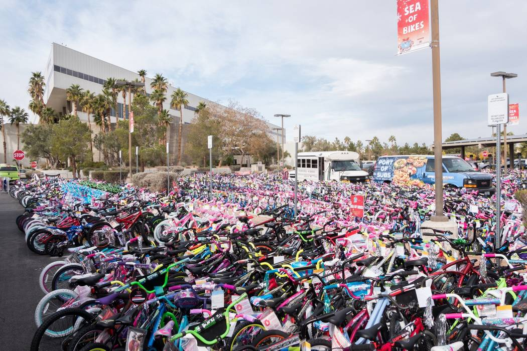 Hundreds of bikes are donated each year to local children in need as part of the annual 98.5 KL ...