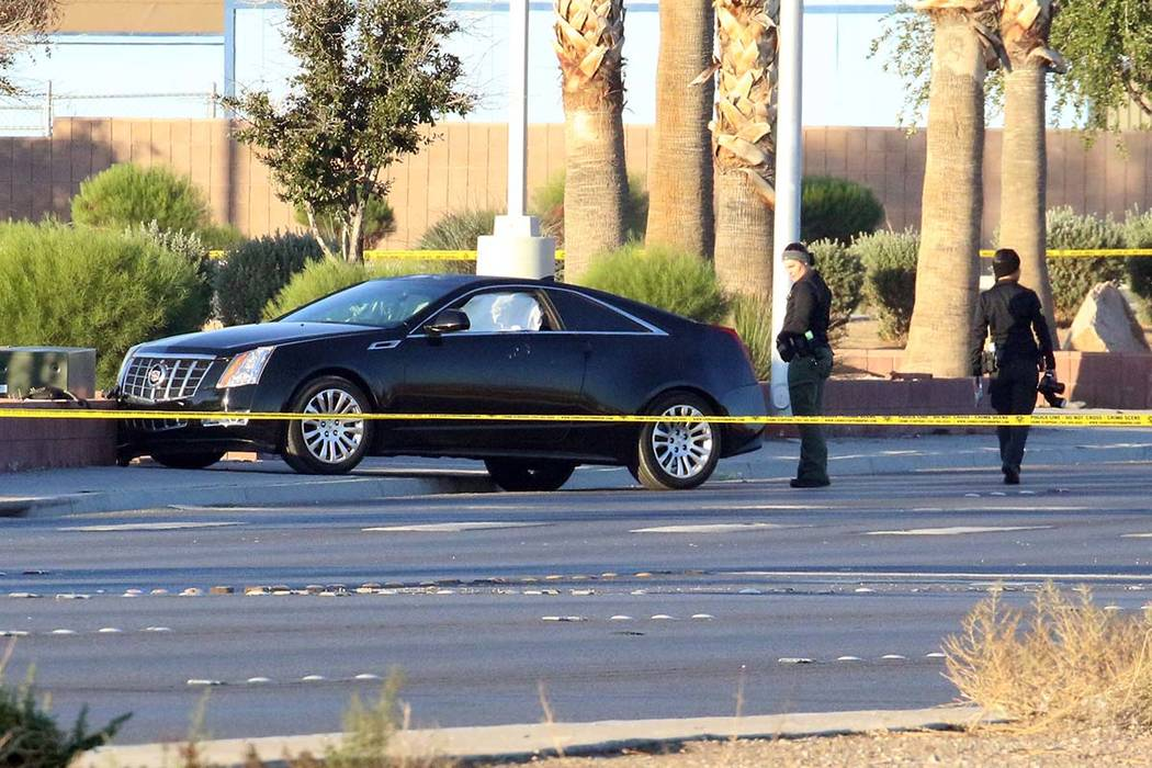 Police are investigating a homicide after a woman was found shot to death in a vehicle at East ...