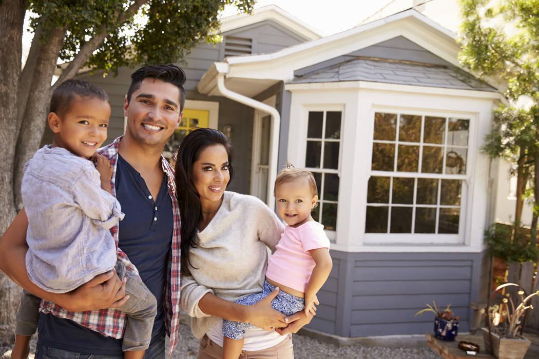 Hispanic homeownership has always been higher in Las Vegas than the national average. Census da ...