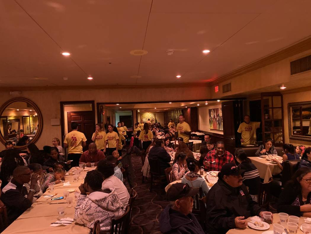 Piero's Italian Restaurant was the site for the Youth Charities of Southern Nevada Thanksgiving ...