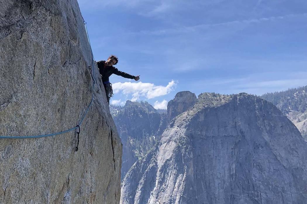 Death rock climber Rock climber