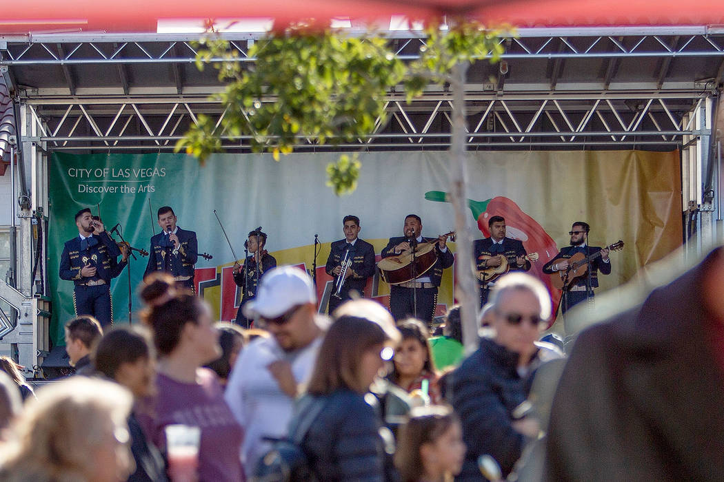 The Las Vegas Tamale & Mariachi Festival brought traditional dance and mariachi music, as well ...