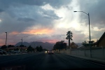 Las Vegas' record-setting weather about to turn wet, chilly