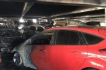 Fire damages 7 cars at Las Vegas airport parking garage
