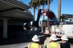 Hard Rock Cafe demolition starts in Las Vegas