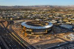 Raiders stadium in Las Vegas continues to be on time, on budget