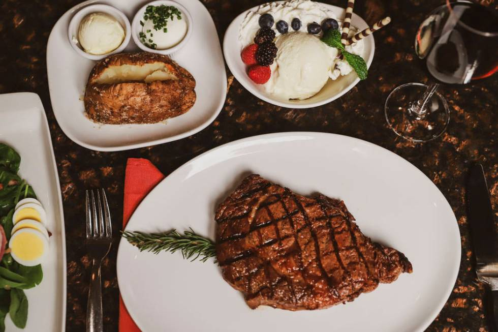 Arizona Charlie's Decatur is celebrating the 10th anniversary of Ron's Steakhouse. (Arizona ...