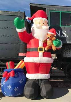 Nevada Southern Railway's annual Pajama Train. (Boulder City Review)
